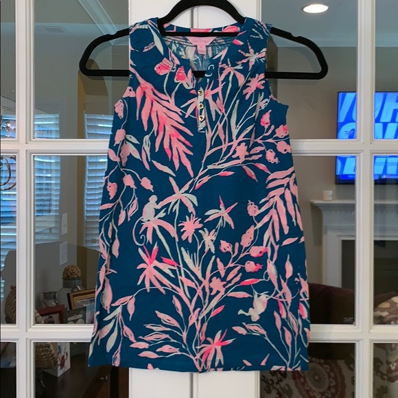 Lilly Pulitzer Other - Lilly Pulitzer Mini Essie Dress Girls Tidal Wave